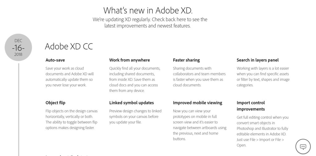Adobe XD Update 2019